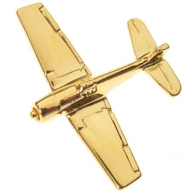 F6F Hellcat Boxed Pin - Gold