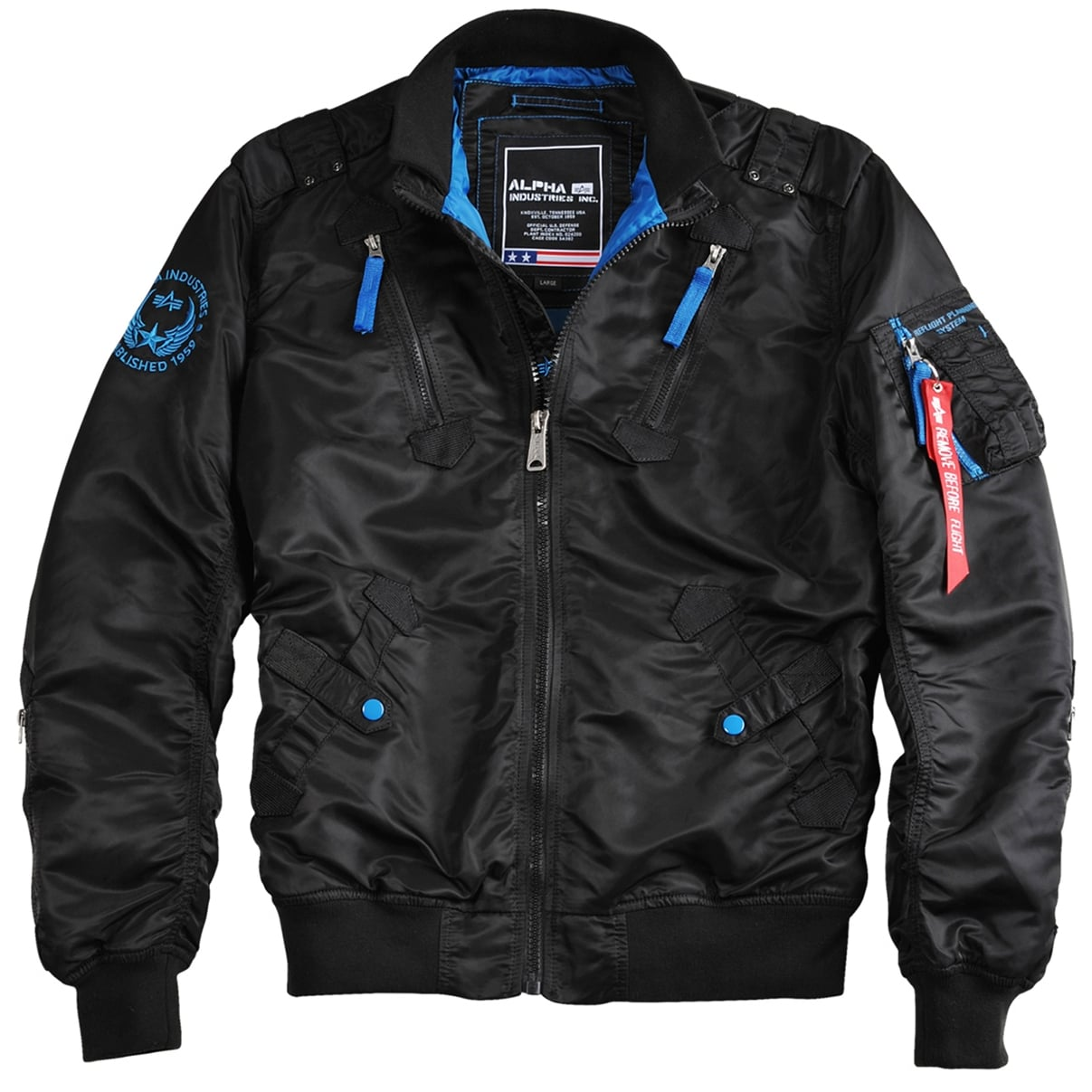 Falcon Industries 4 Flight Alpha In Colours Ii Jacket awqc5zg