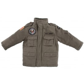 Field Patch Kids Jacket