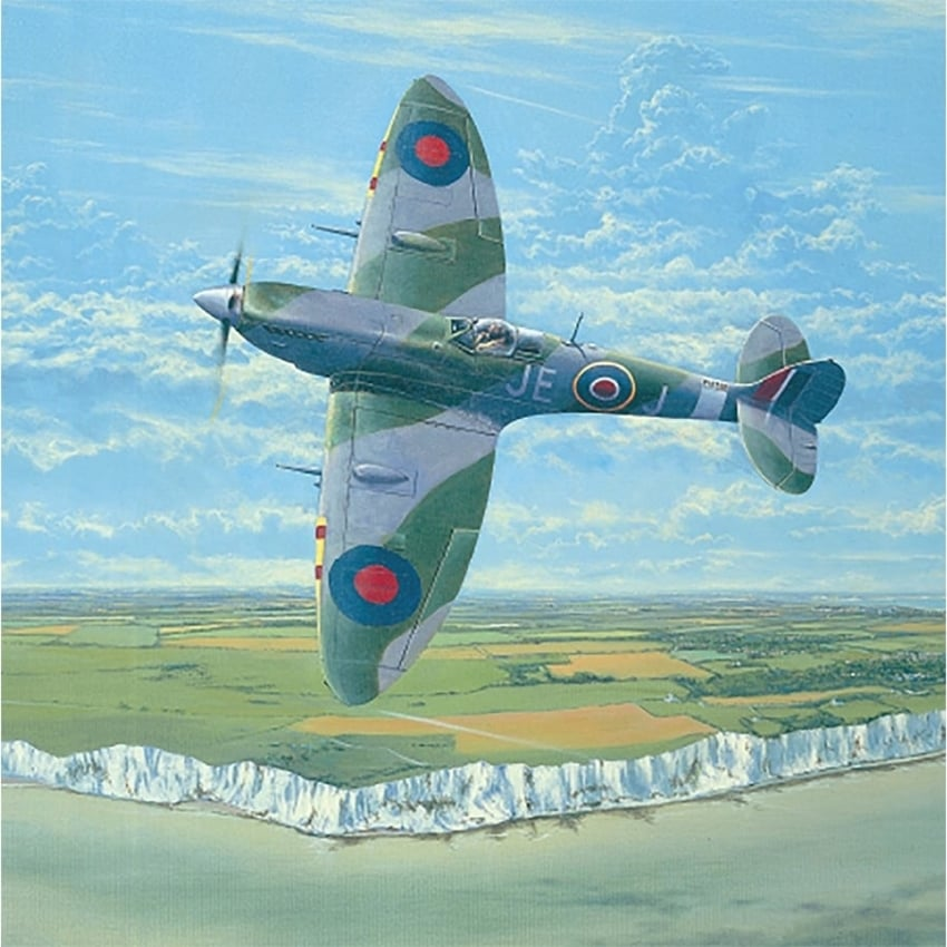 Fighting Lady – Spitfire Greeting Cards - Pack of 6
