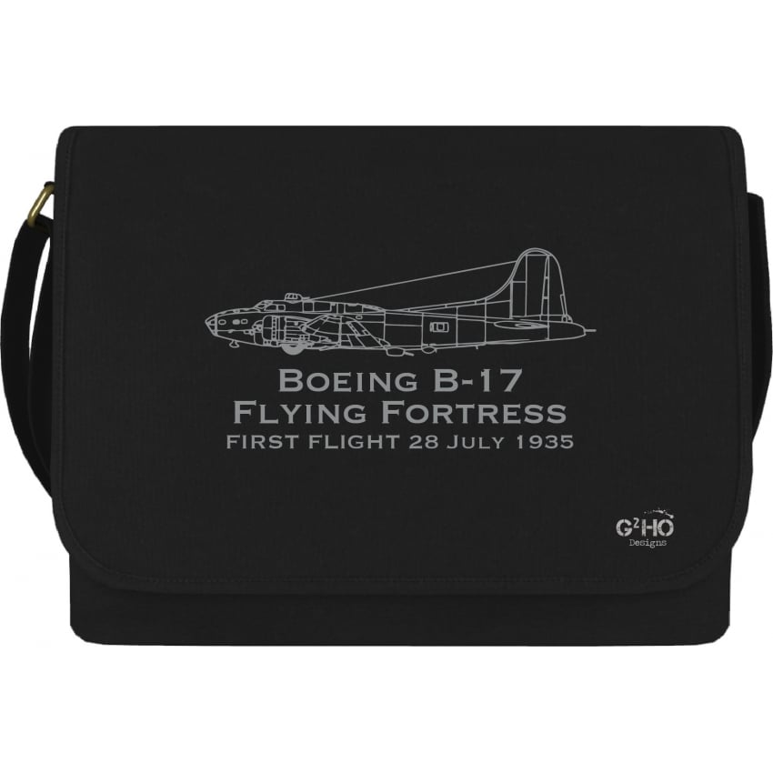 First Flight B-17 Flying Fortress Canvas Bag