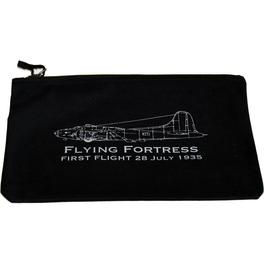 First Flight B-17 Flying Fortress Handy Pouch