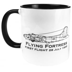 First Flight B-17 Flying Fortress Mug
