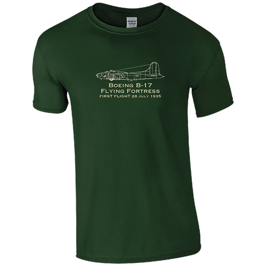 First Flight B-17 Flying Fortress T-Shirt