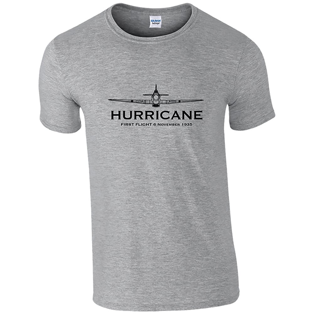 first flight hurricane t shirt available in 4 colours. Black Bedroom Furniture Sets. Home Design Ideas