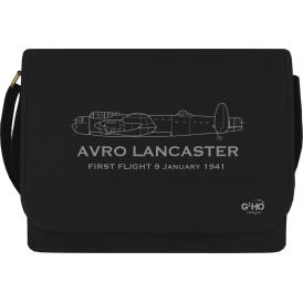 First Flight Lancaster Canvas Bag