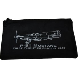 First Flight P-51 Mustang Handy Pouch