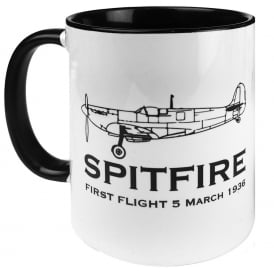 First Flight Spitfire Mug