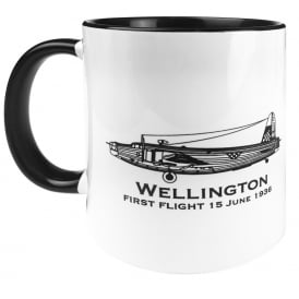 First Flight Wellington Bomber Mug