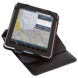 Sportys Flight Gear Deluxe Leather iPad Kneeboard - iPad 2 to iPad Air