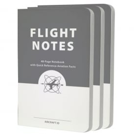 Flight Notes Pack Of 3 Notebooks