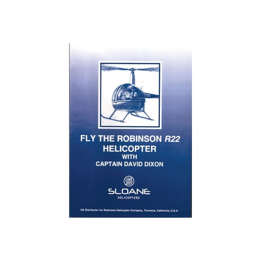 Fly The Robinson R22 Helicopter DVD