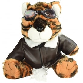 Flying Tiger Pilot Soft Toy