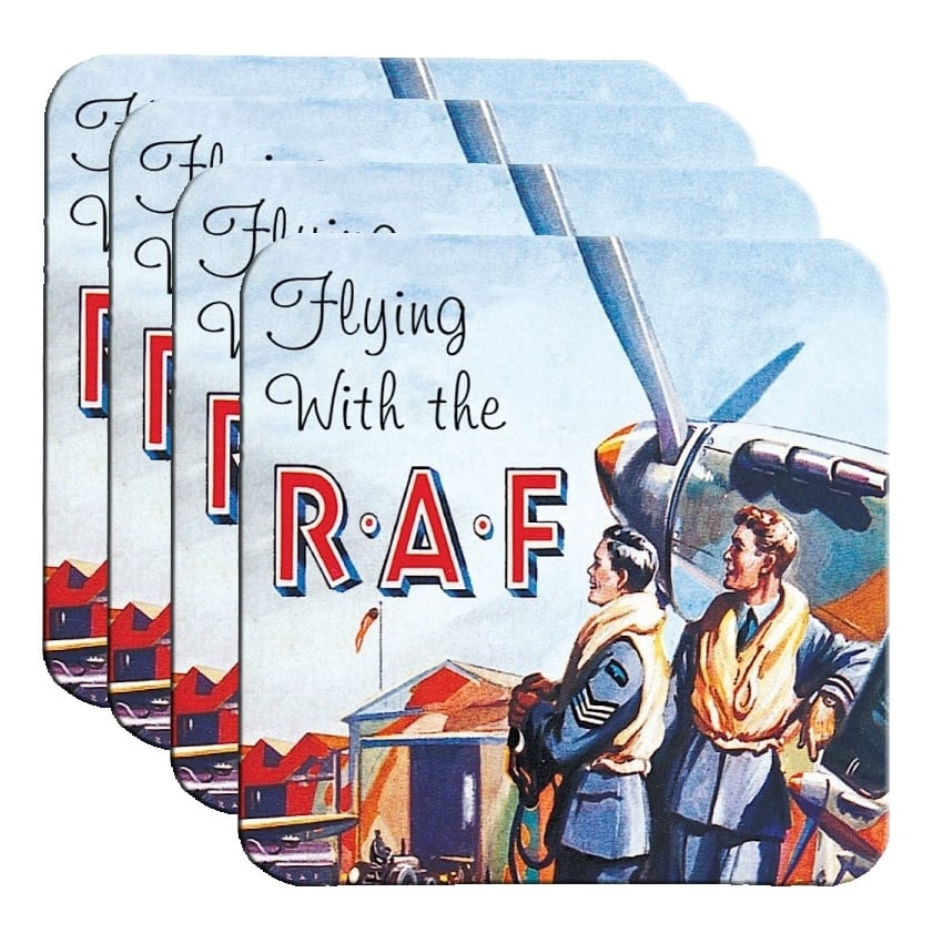 Flying With the RAF Coaster Set of 4