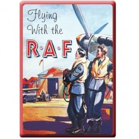 Flying With the RAF Fridge Magnet