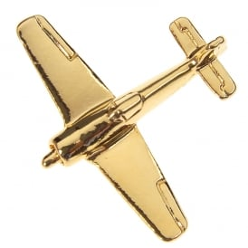 Focke Wulfe 190 Boxed Pin - Gold