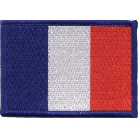 France Flag Iron on Patch