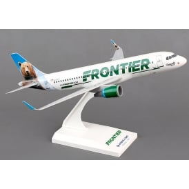 Frontier Airbus A320 with Sharklets Plastic Model - Scale 1:150