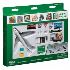 Frontier Airlines 10 Piece Model Play Set