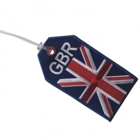 GBR Flag Embroidered Baggage Tag