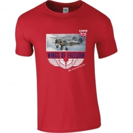 Gloster Gladiators Wings of Freedom T-Shirt