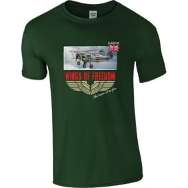 Gloucester Gladiators Wings of Freedom T-Shirt