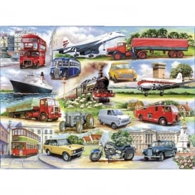 Golden Oldies Jigsaw (1000 pieces)