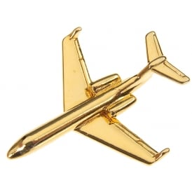 Gulfstream IV Boxed Pin - Gold