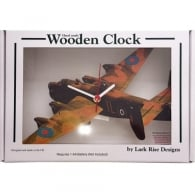 Halifax Cut Out Wooden Wall Clock