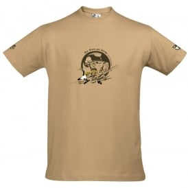 Rescue Fashion Hans Joachim Marseille T-Shirt - Sand