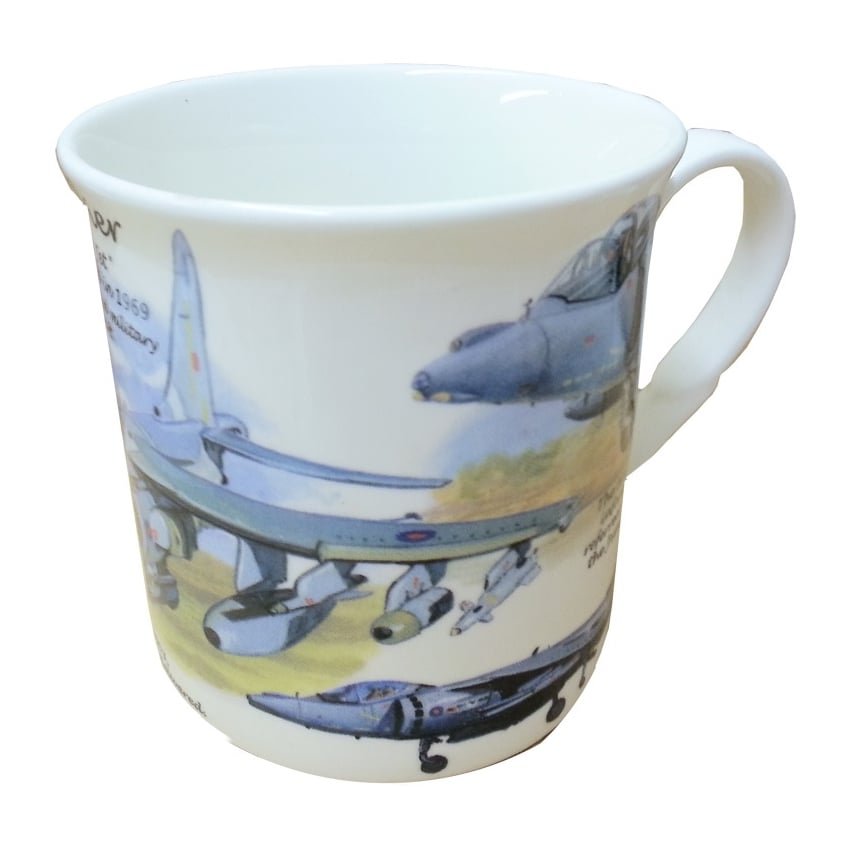 Harrier Bone China Mug