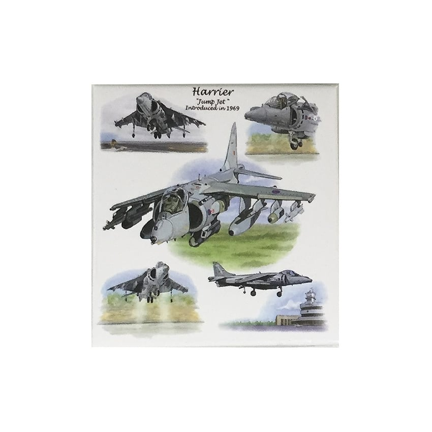 Harrier Fridge Magnet