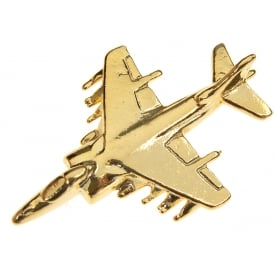 Harrier GR7 Boxed Pin - Gold
