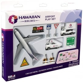 Hawaiian Airlines 13 Piece Model Play Set