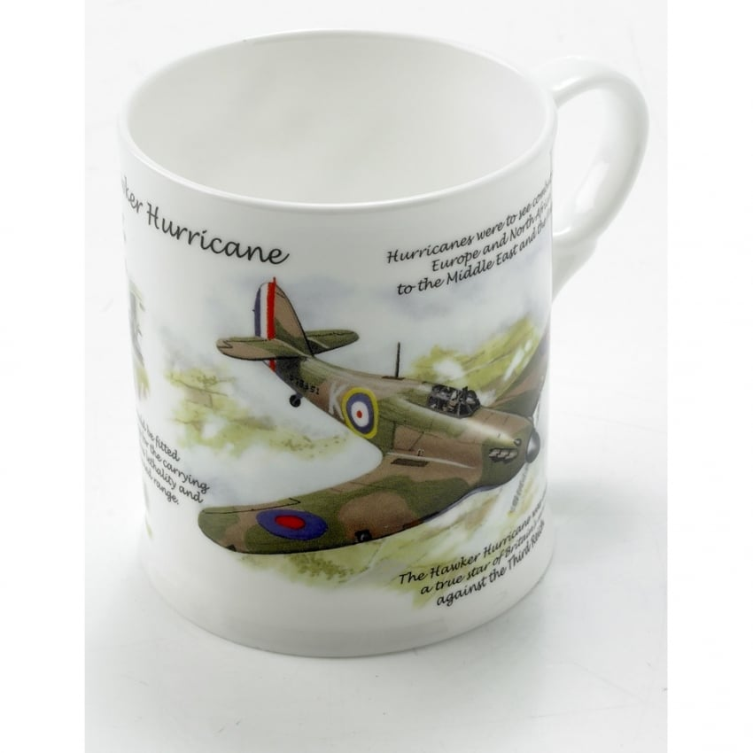 Hawker Hurricane China Mug
