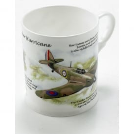 Little Snoring Hawker Hurricane China Mug