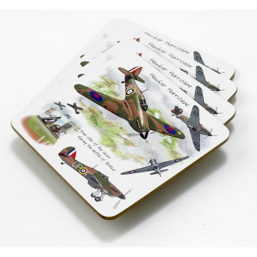 Hawker Hurricane Coaster Set of 4