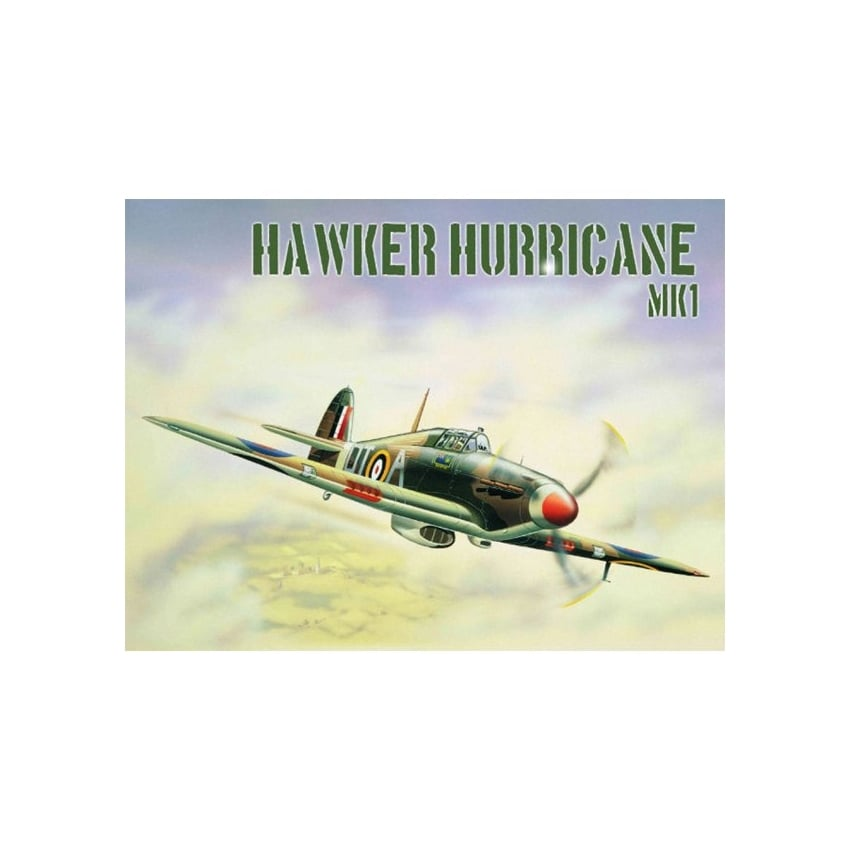 Hawker Hurricane Mk1 Metal Tin Sign