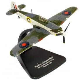 Hawker Hurricane Naval Air Diecast Model 1:72