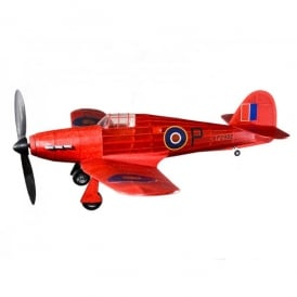 Hawker Hurricane Rubber Power Model