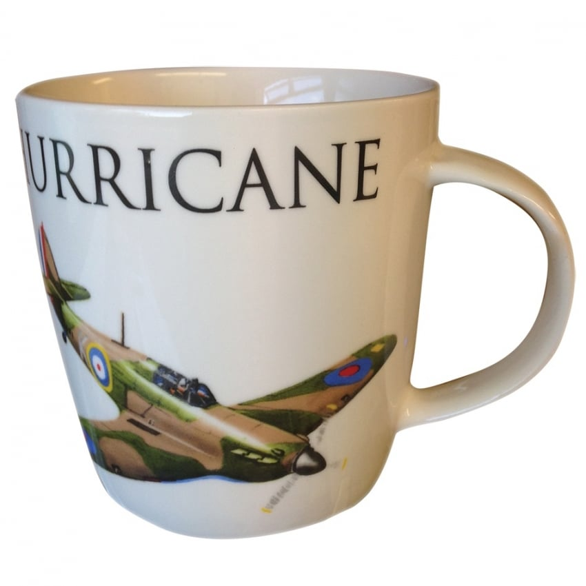 Hawker Hurricane Word Aircraft Mug