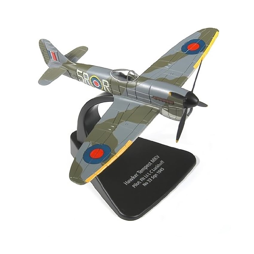 Hawker Tempest MkV Diecast Model - Scale 1:72
