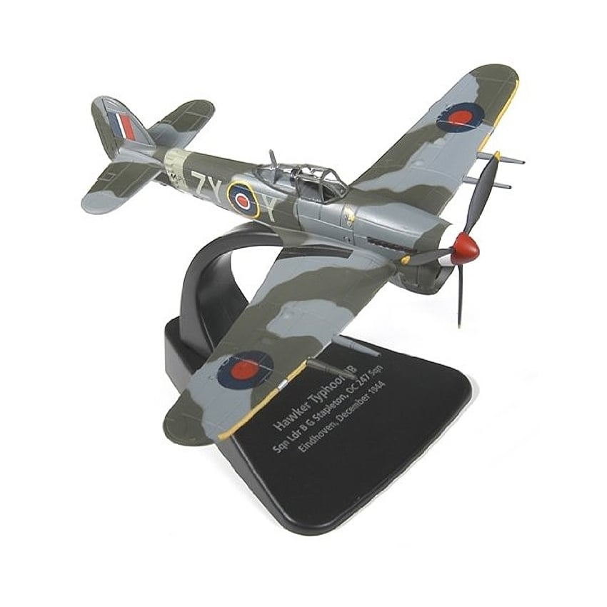 Hawker Typhoon Mk1b Diecast Model - Scale 1:72