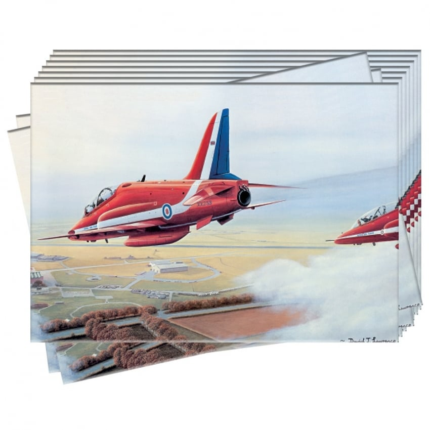 Hawks Over Scampton Greeting Cards - Pack of 10