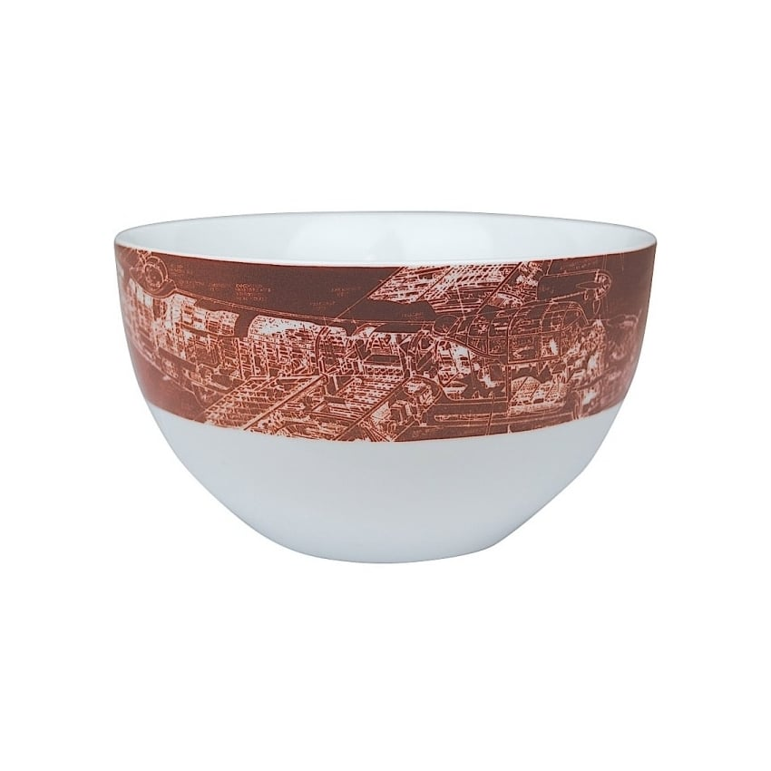 Lancaster Ceramic Serving Bowl