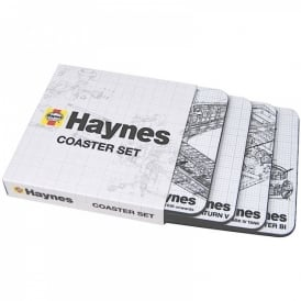 Haynes Mixed Aircraft Coaster Set of 4