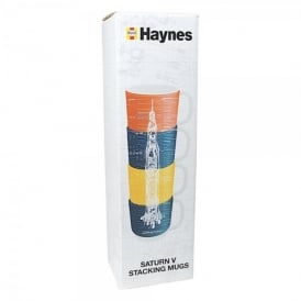 Haynes Saturn V Rocket Stacking Mugs