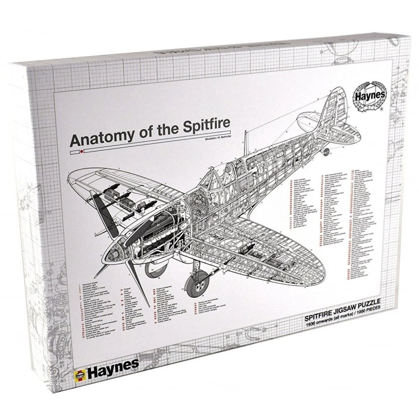 Spitfire Jigsaw Puzzle - 1000 pieces