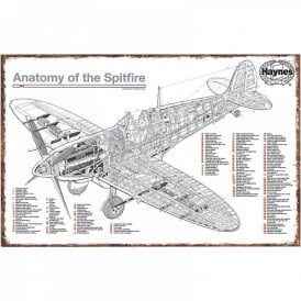 Haynes Spitfire Tin Sign