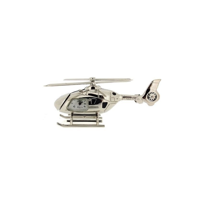 Helicopter Miniature Desk Clock